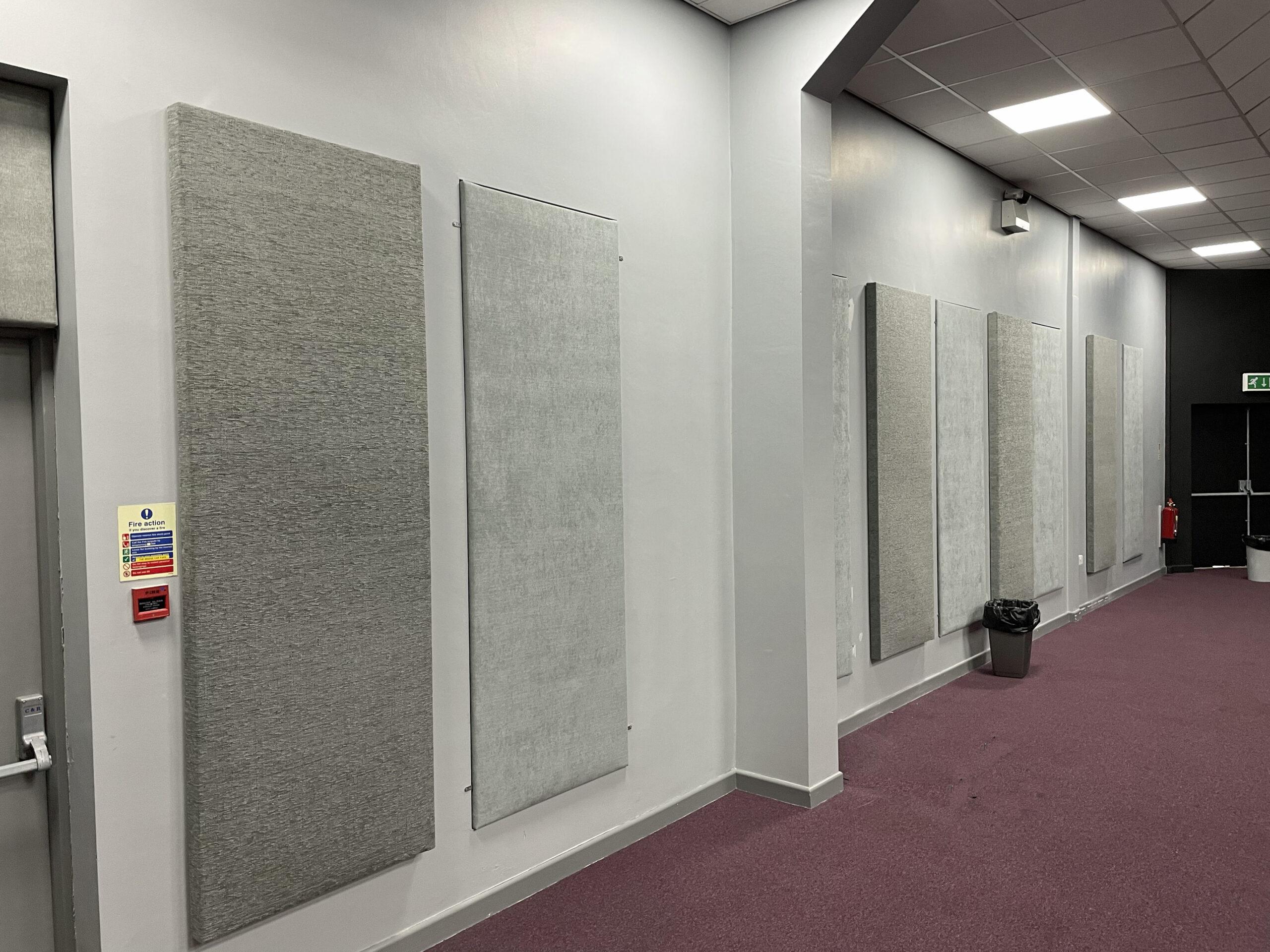 King Sound Studio Acoustic Panel Treatment